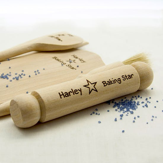 Personalised Star Baking Set