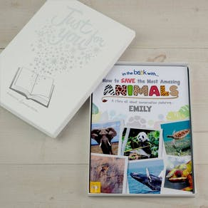 Personalised Save The Most Amazing Animals Book