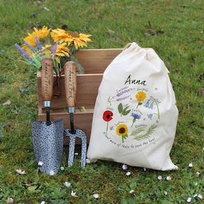 Personalised Save The Bees Gardening Gift