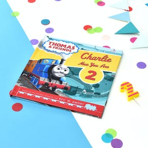 Personalised Thomas & Friends Birthday Book