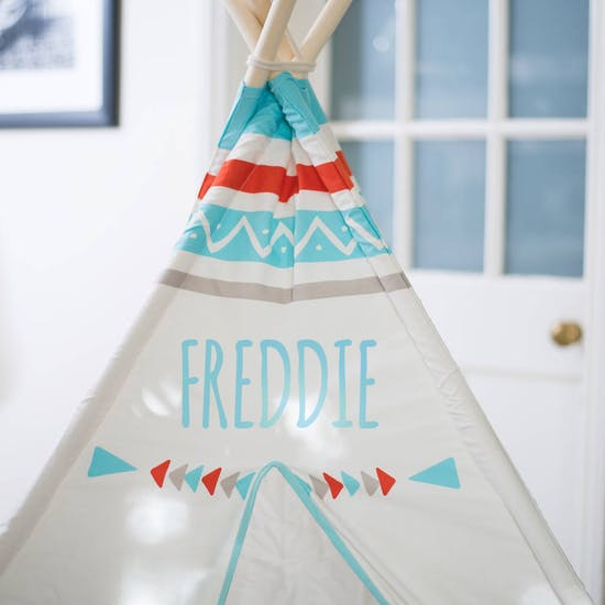 Personalised Teepee Tent