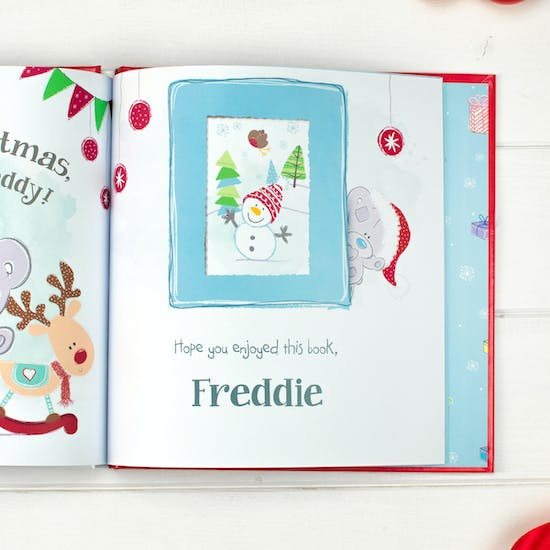 Personalised Tiny Tatty Teddy Christmas Book