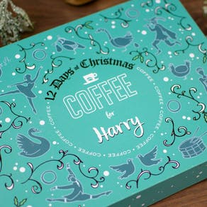 Personalised 12 Days Of Coffee Advent