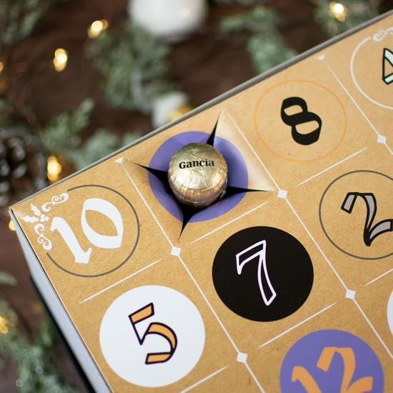 Personalised 12 Days Of Prosecco Countdown