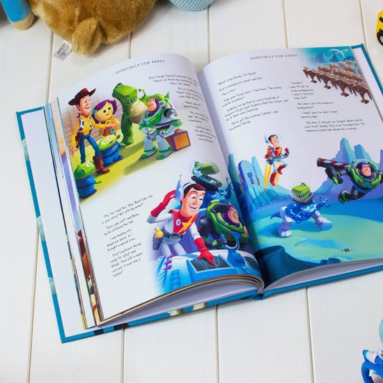 Personalised Toy Story Collection Book