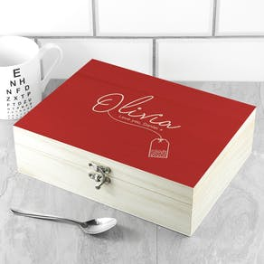 Personalised The Ultimate Cu Tea Box