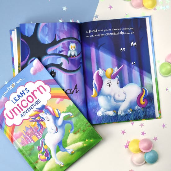 Personalised Unicorn Adventure Book