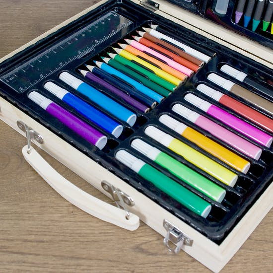 Personalised Unicorn Art Box Set