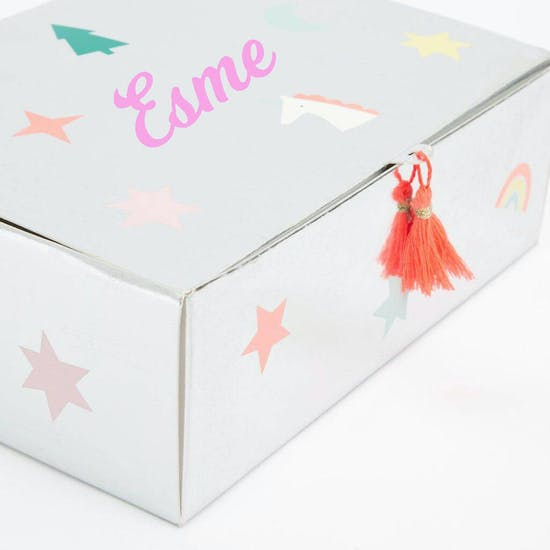 Personalised Unicorn Stamp Advent Box