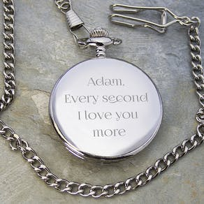 Personalised Romantic Pocket Watch