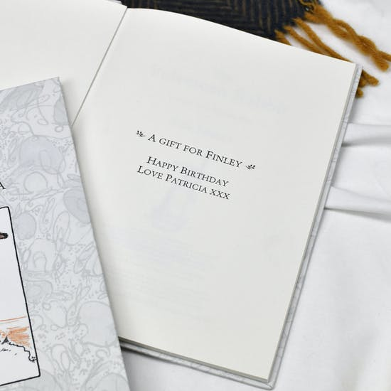 Personalised Velveteen Rabbit Book