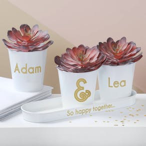Personalised Wedding Buckets