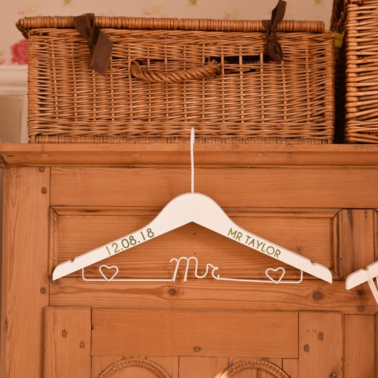 Wedding Coat Hanger