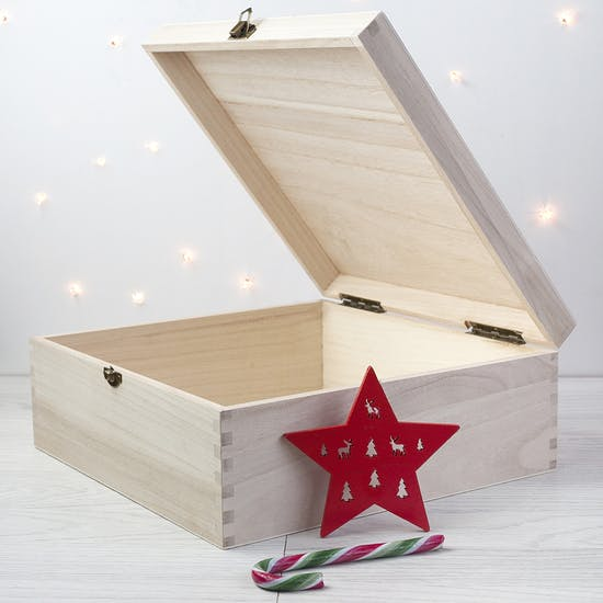 Personalised Woodland Christmas Eve Box