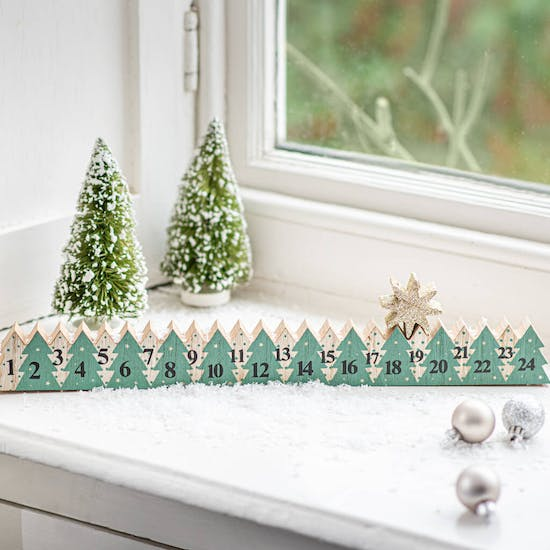 Personalised Wooden Advent With Star