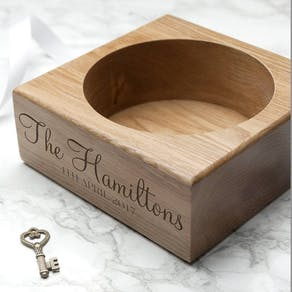Personalised Wooden Bottle Holder