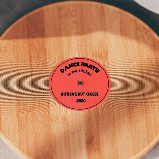 Personalised Wooden Record Cutting Board