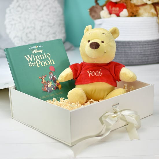 Personalised Winnie The Pooh Book Gift Set