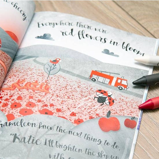 Personalised My World Of Colour Book