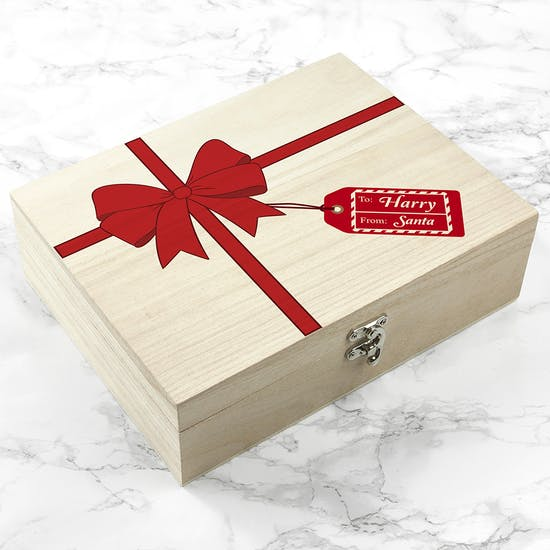 Personalised Wrapped Up Christmas Eve Box