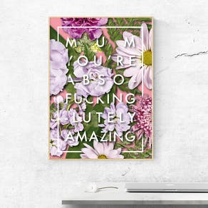 Personalised You're *** Amazing Print