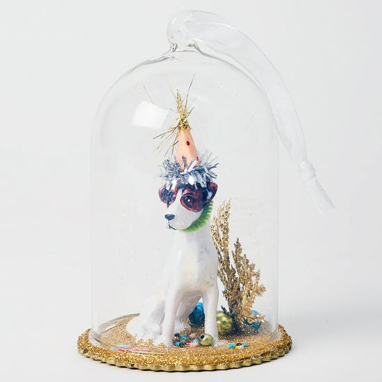 Party Dog Christmas Decoration