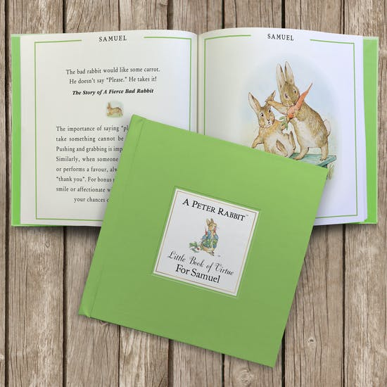 Peter Rabbit's Little Book Of Virtue
