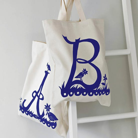 Rob Ryan Initial Tote Bag