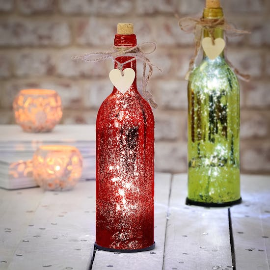 Red or Green Firefly Bottle