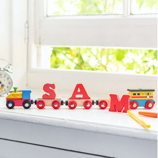 Red Letter Name Train