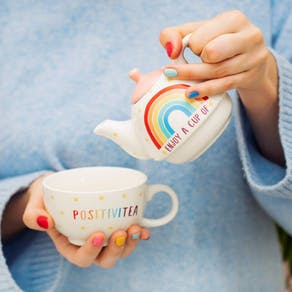 Rainbow Positivitea For One