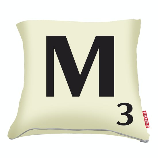 Scrabble Cushion