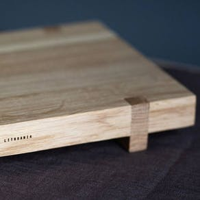 Solid Oak Hand Crafted Sushi Serving Board
