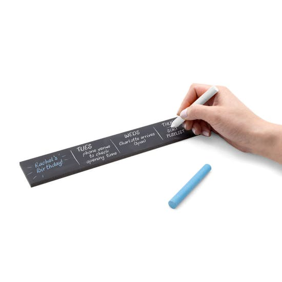 Self Adhesive Chalkboard Tape Wall Planner