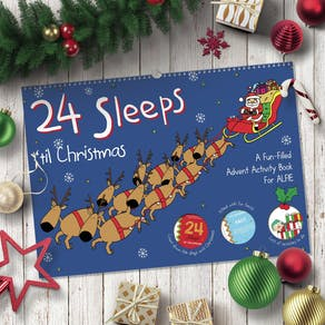 24 Sleeps Advent Book