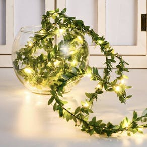 Small Leaf String Fairy Lights