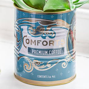 Set Of Two Retro Coffee Tins