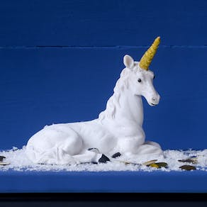 Sitting Unicorn Decoration