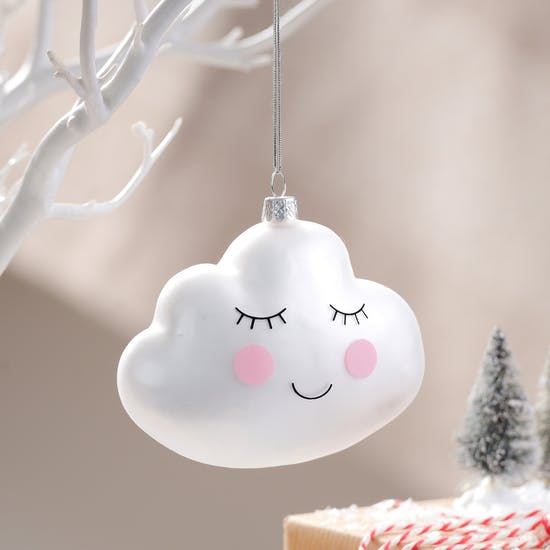 Sweet Dreams Cloud Hanging Bauble