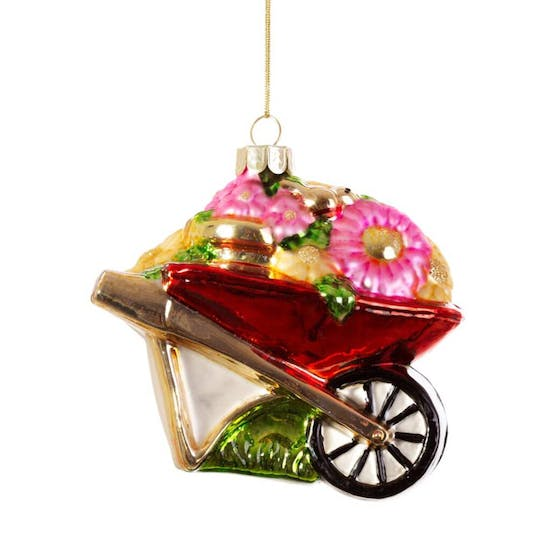 Sweet Glass Gardeners Bauble