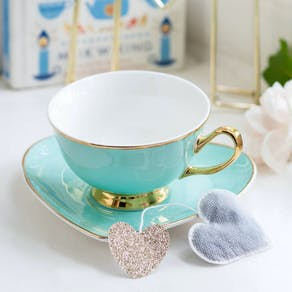 Sweet Heart Teacup And Saucer