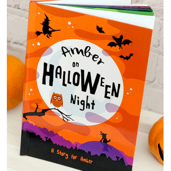 Personalised Halloween Story Book