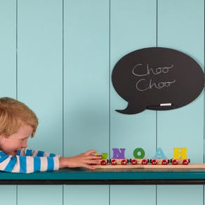 Six Crayon Shape Wall Stickers With Coat Hooks