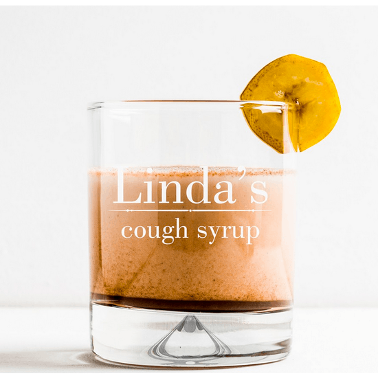 Personalised 'Cough Syrup' Tumbler