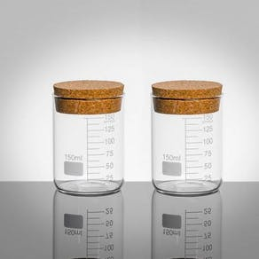 Scientific Style Salt And Pepper Storage Jars