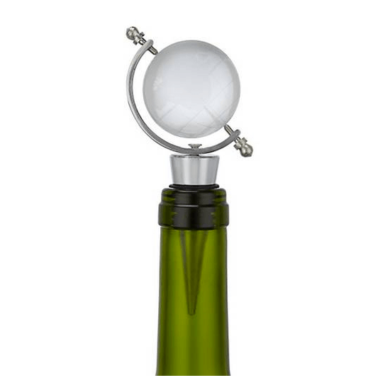 Glass World Wine Stopper