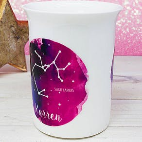 Personalised Watercolour Constellation Mug
