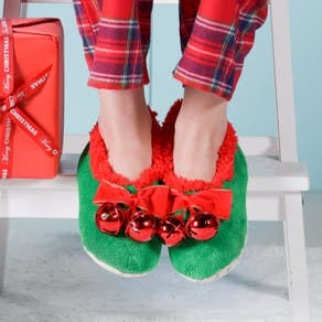 Jingle Bell Slippers