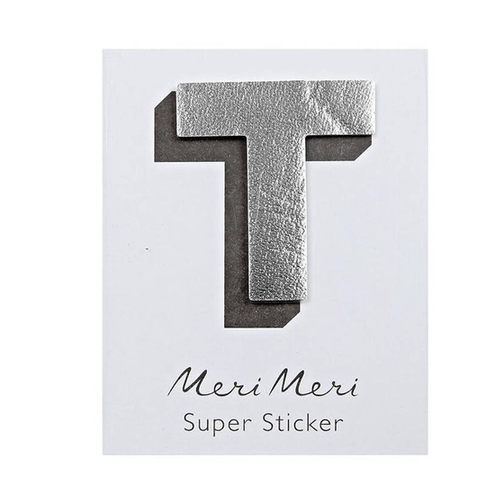 Metallic Leather Effect Stickers