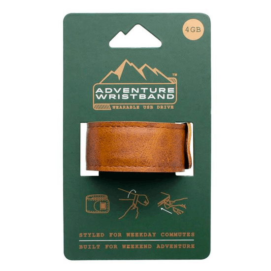 USB Snap On Adventure Wristband